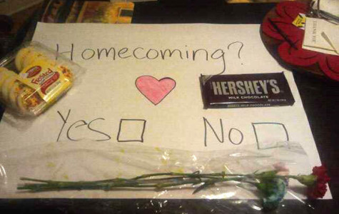 Recent Trend on Asking Someone Out to Homecoming Requires Creativity