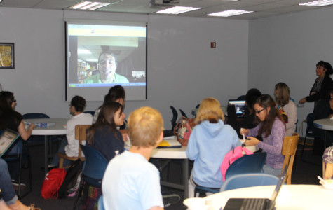 Students Treated to Ice Cream as Part of Scoop and Skype