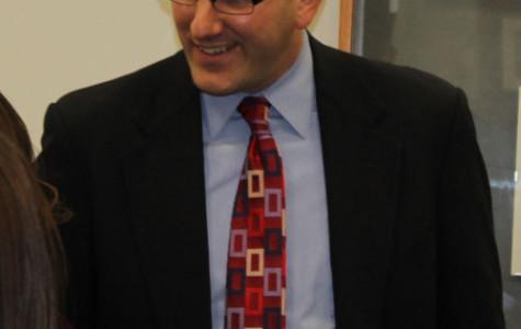 New Superintendent Dr. Polyak Visits East Leyden