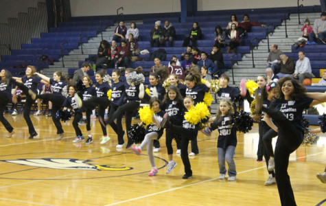 Lil' Leydenettes Wow Crowd During Halftime Show