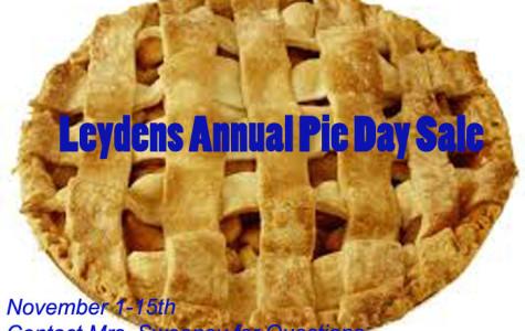 Thanksgiving Pie Day Sale