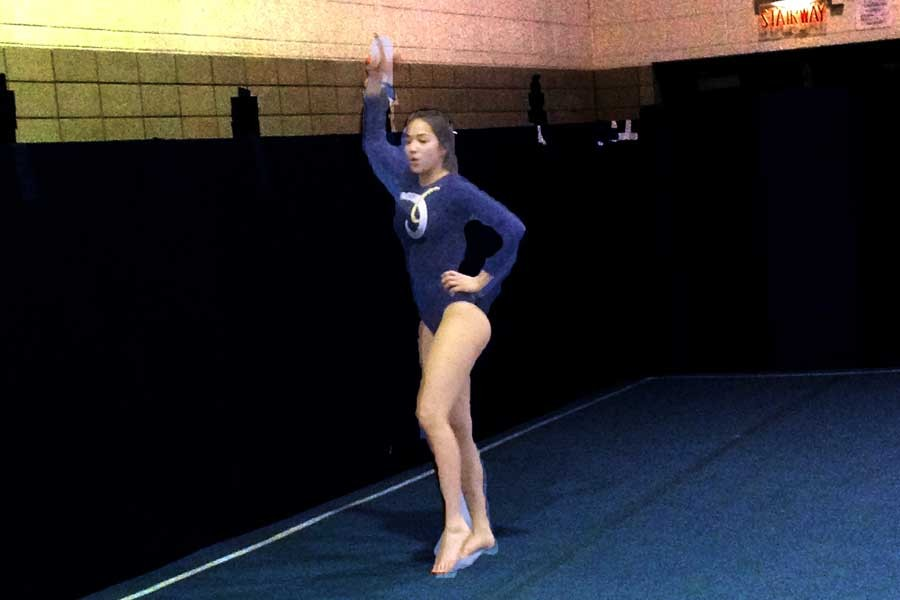 Gymnasts Encouraged by First Meet
