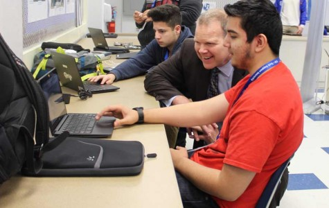 Education Official Visits Leyden