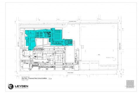 East Leyden HS - Site Plan