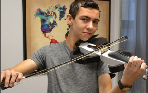 Student Fabian Bartos Amazes Engineering Community With 3D Printed Violin