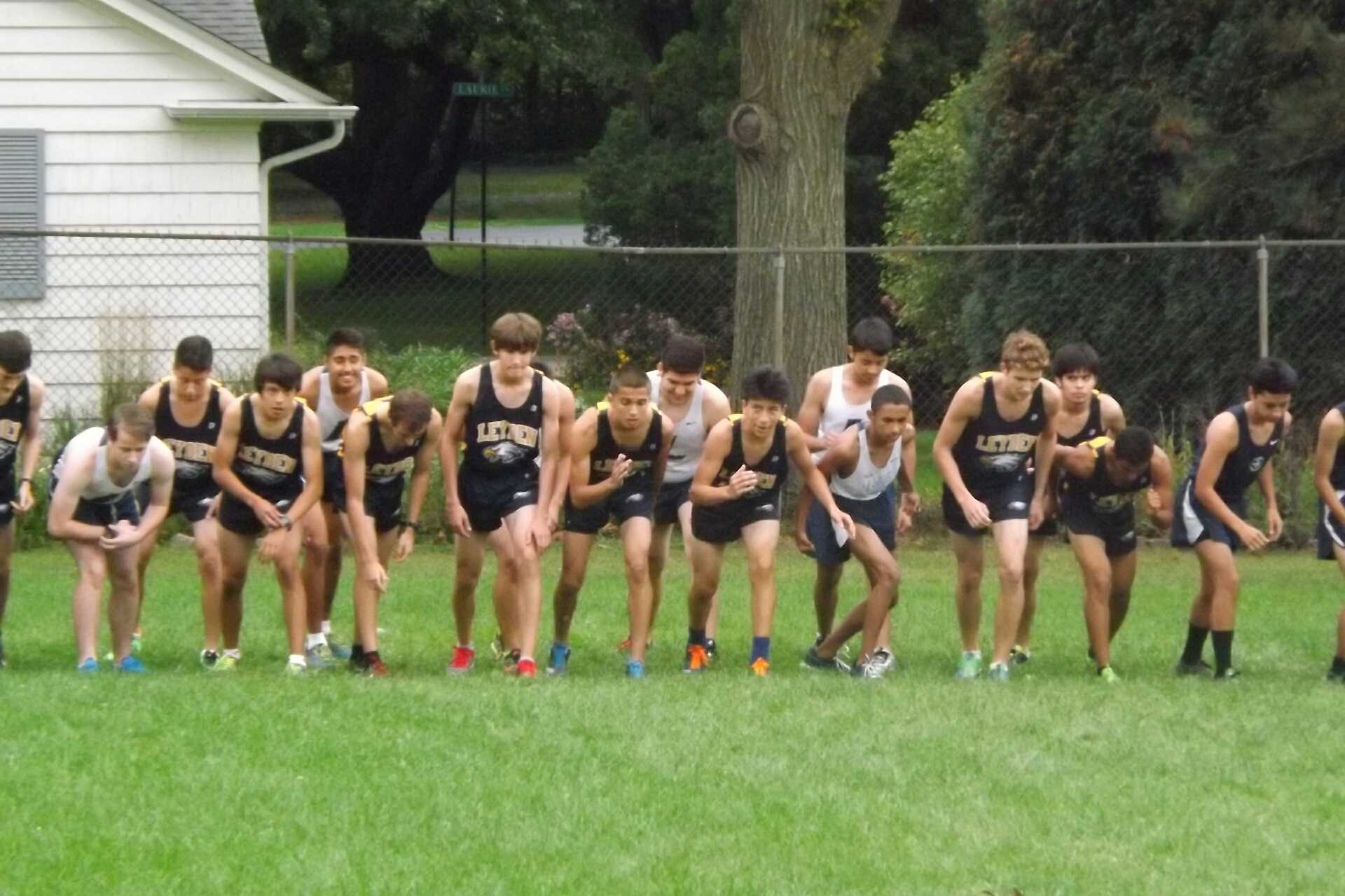 Leyden Cross Country Takes Second in Meet on the Way to Conference