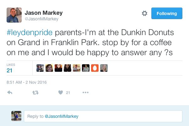 Markey's Dunkin Talks