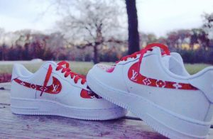 Mario Skowron's Nike Air Force 1