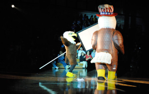 Homecoming Pep Rally: New Spin on an Old Tradition