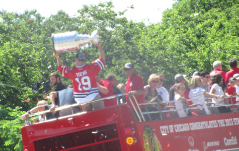 2013 Blackhawks Parade