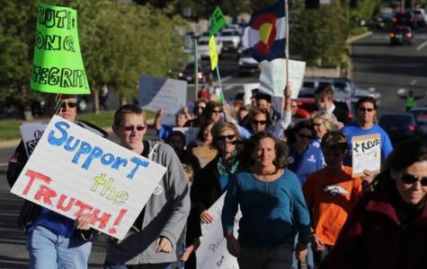 Colorado High School Protest