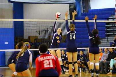 Volleyball having historic season