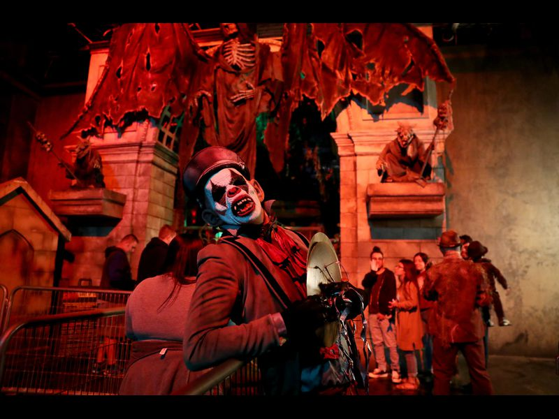 Catch a Scare at 13th Floor Haunted House