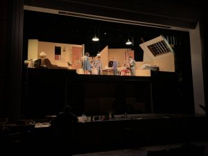 A Behind the Scenes Look at Leyden's New Theatre Production
